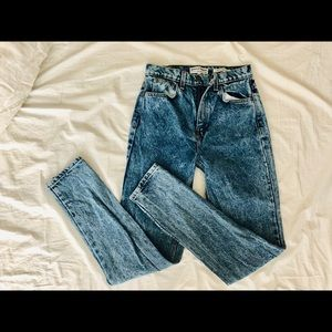 American Apparel High Waist Jean